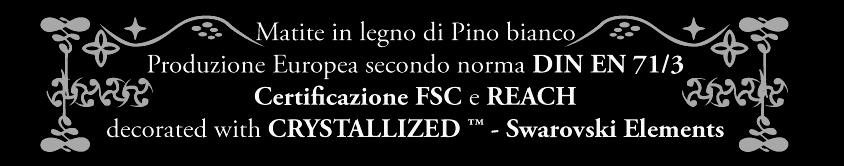 Certificazione CRYSTALLIZED™ Swarovski Elements